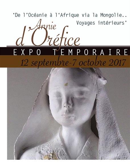 Expo temporaire Annie d'Oréfice