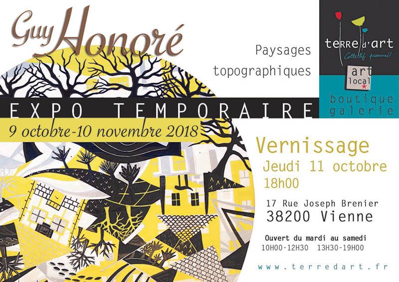 Exposition temporaire Guy Honoré